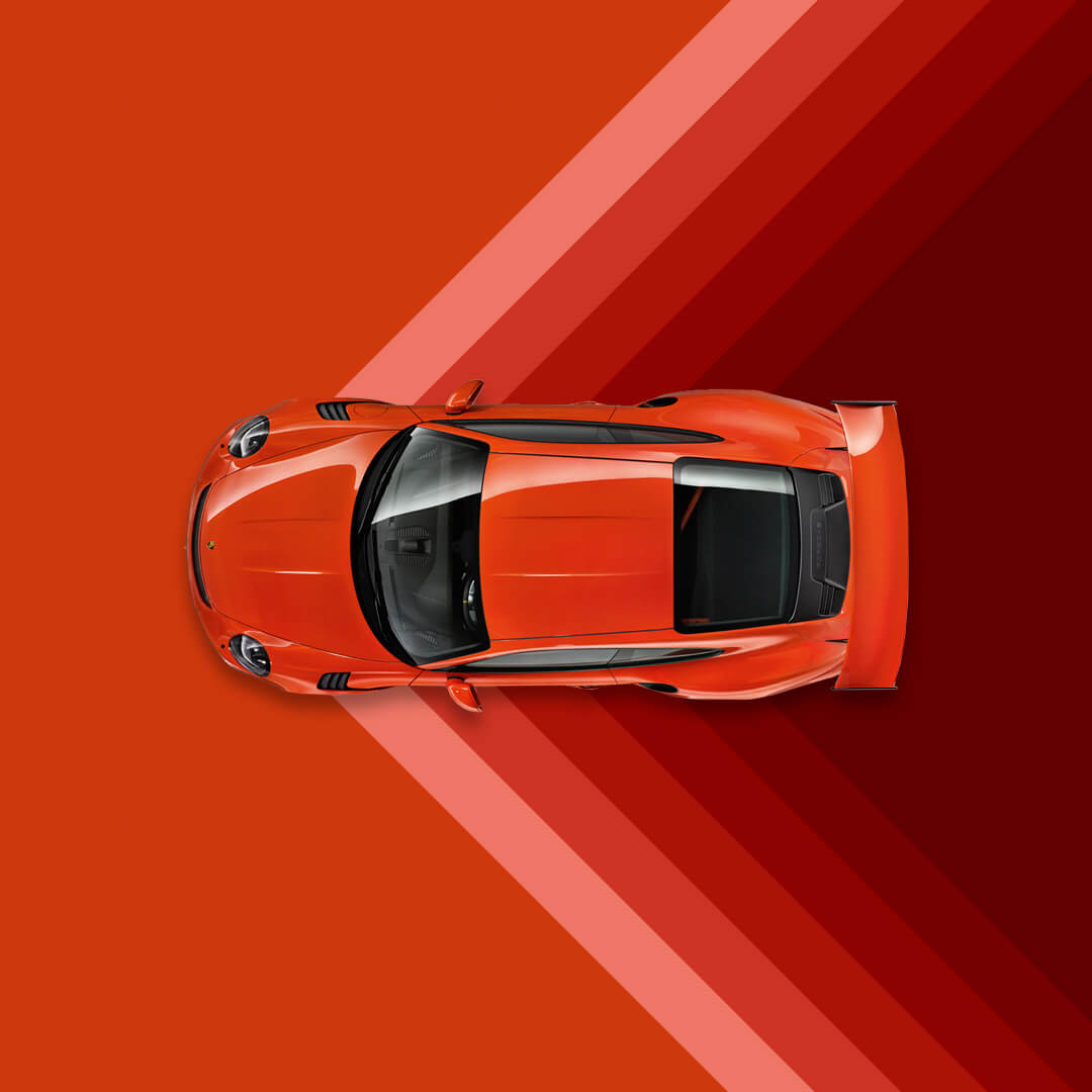 Creatividad para redes Porsche Ibérica