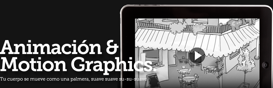 Animación & motion graphics