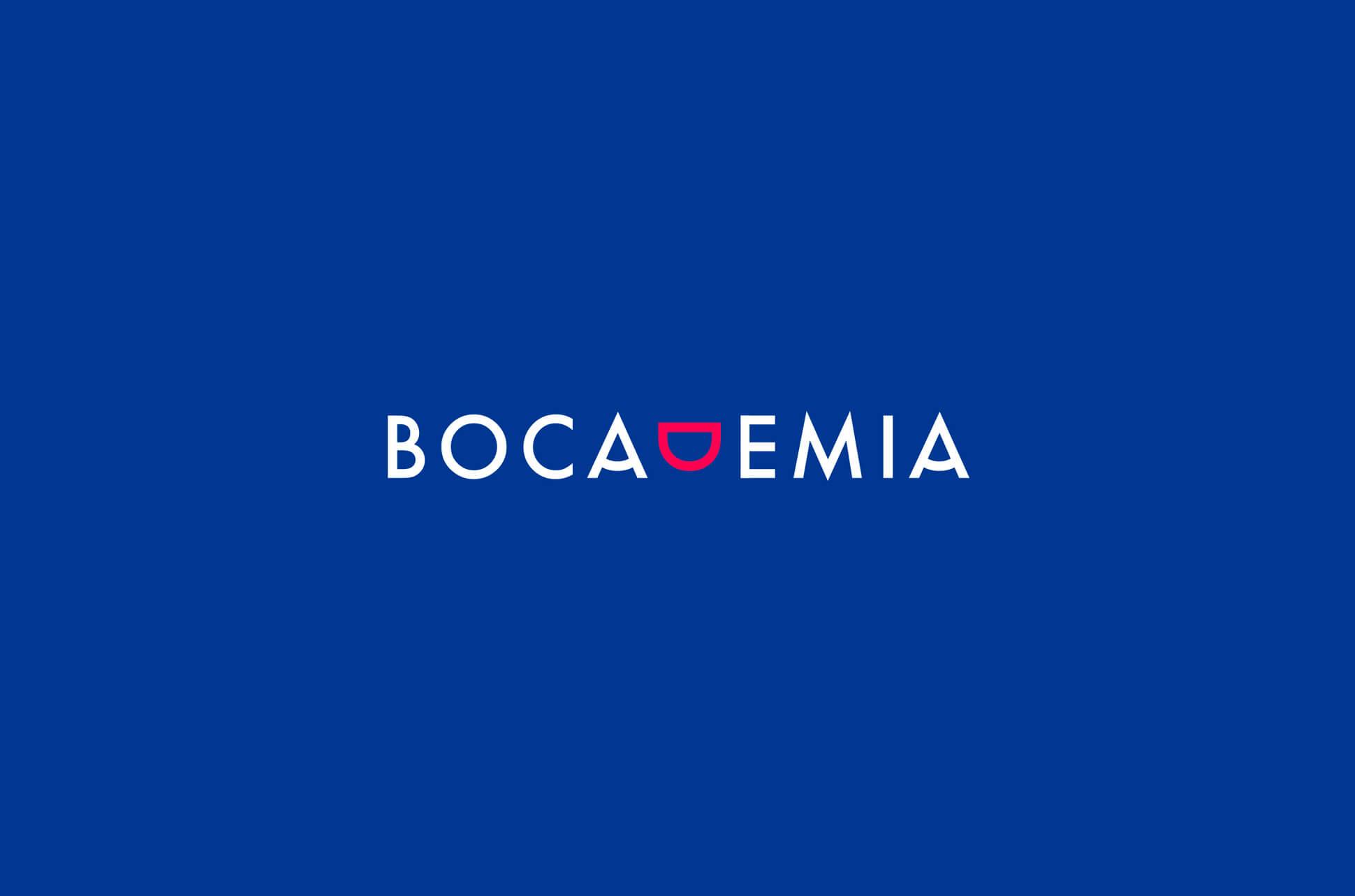 logotipo Bocademia