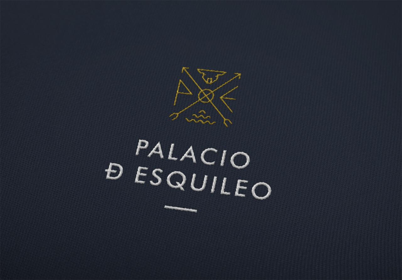 Logotipo de Palacio de Esquileo bordado