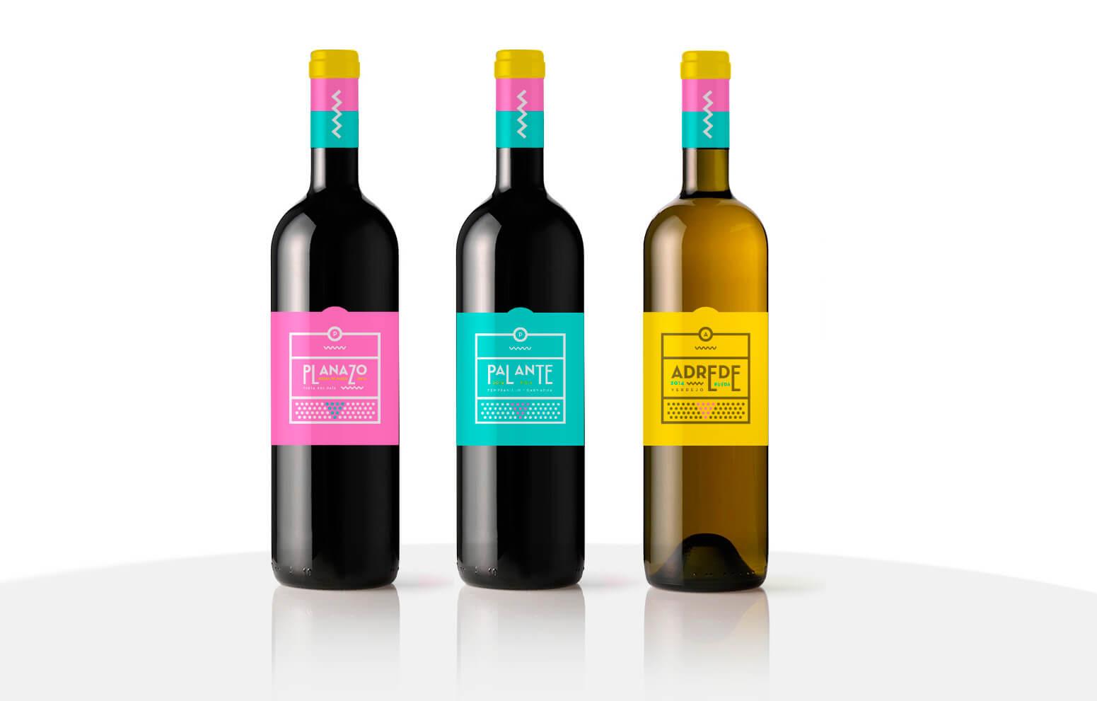 Botellas Palante, Adrede y Planazo