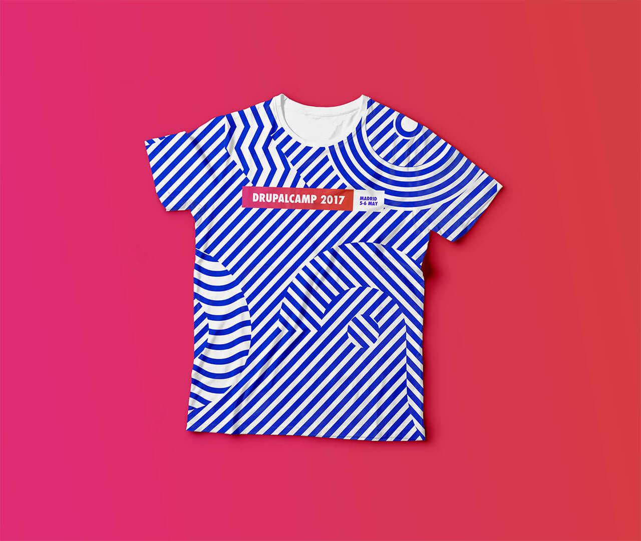 Camiseta para la Drupal Camp 2017