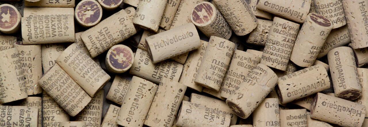 Corchos de Helvetica Wine