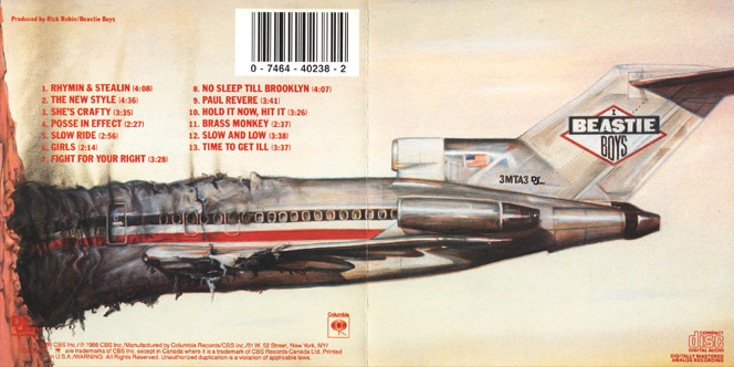Beasty Boys - Licensed to ill