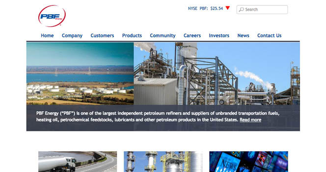PBF Energy Corporate Site