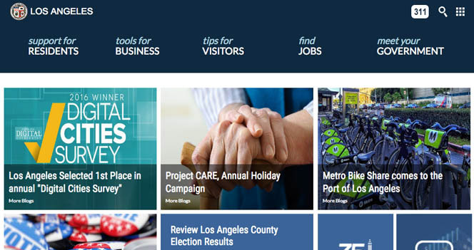 LA City Website