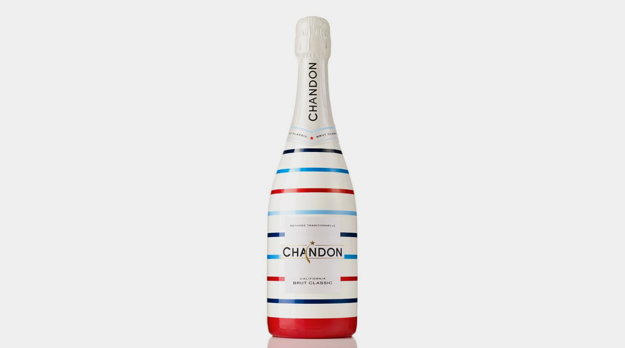 Botella de Chandon