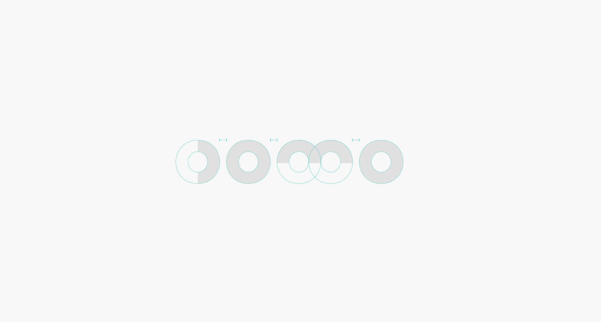 Esquema logotipo Domo