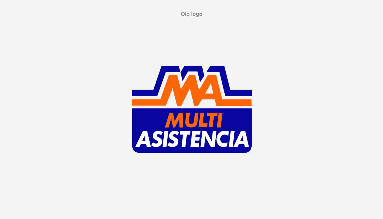 Logotipo antiguo de Multiasistencia