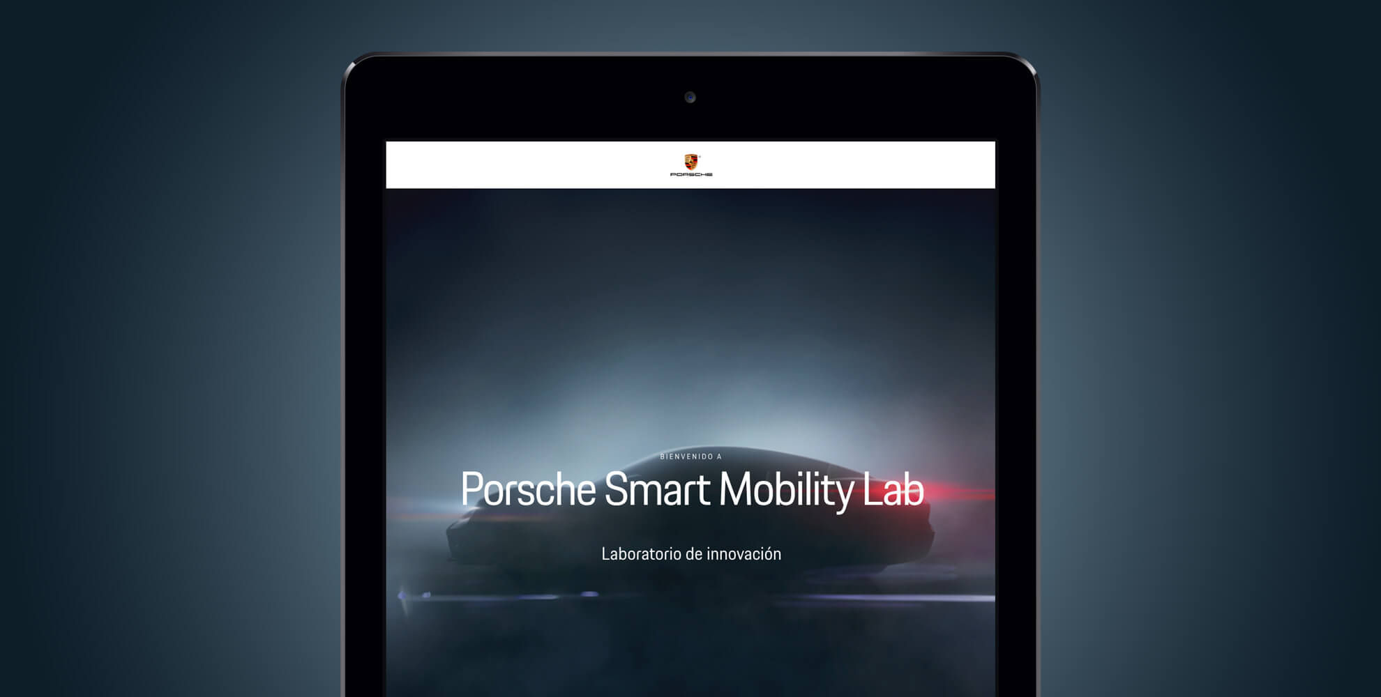Landing Porsche mobility lab