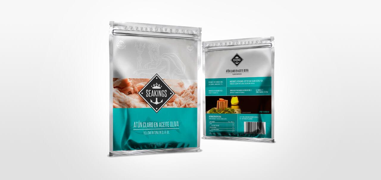Fotografía de diseño de packaging para Sea Kings