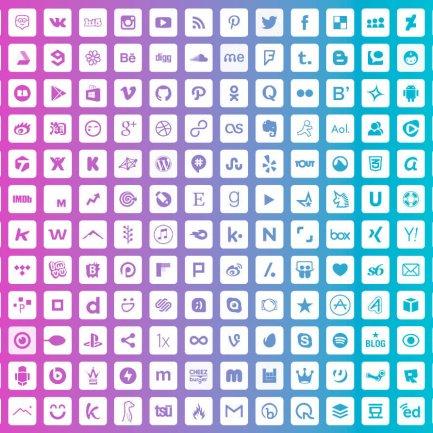 Las 50 redes sociales con más usuarios en el mundo