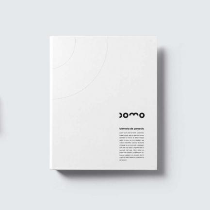 Mockup memoria de proyecto Domo