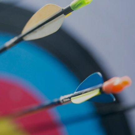 Diana tiro con arco olimpico representado el remarketing de Google