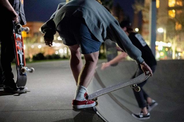 Ricky Han skate