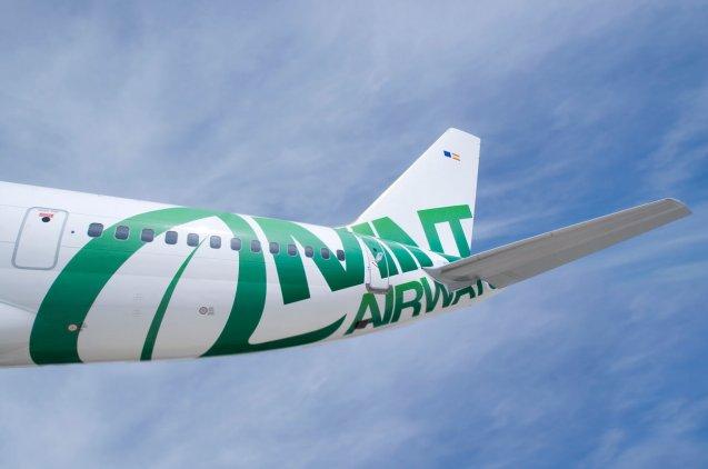 Fotografía de diseño de avión de Mint Airways