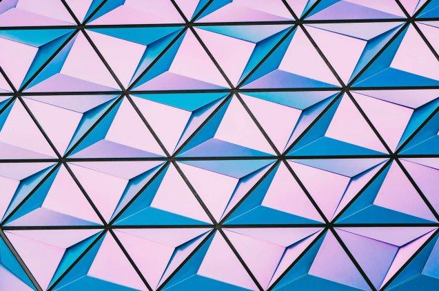 imagen abstracta con geometrías.