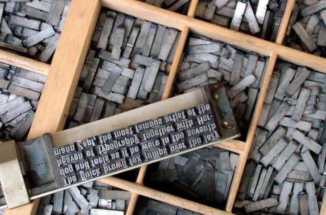 Tipografías de imprenta