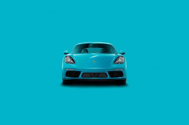 Porsche Boxster Miami Blue