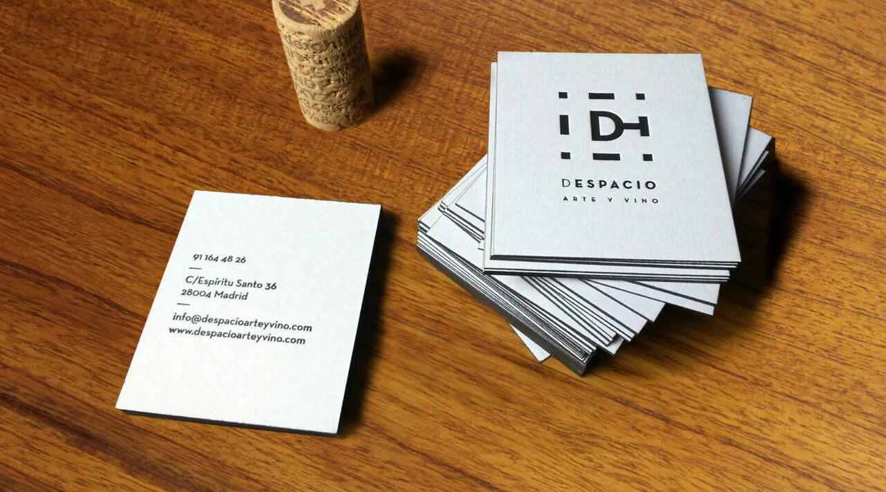 tarjetas de Despacio