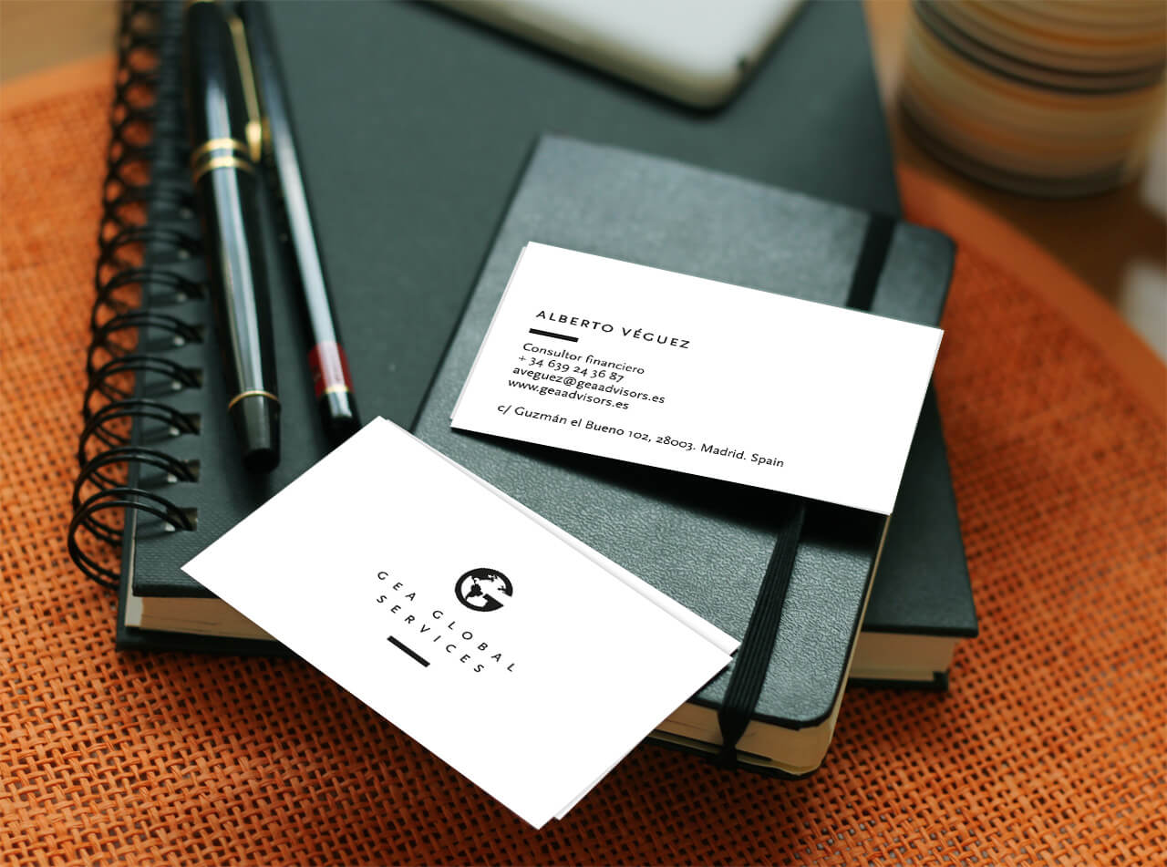 Tarjetas de Gea Global Services