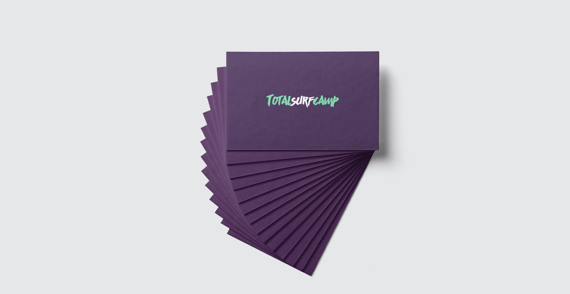 Tarjetas de visita de totalsurfcamp