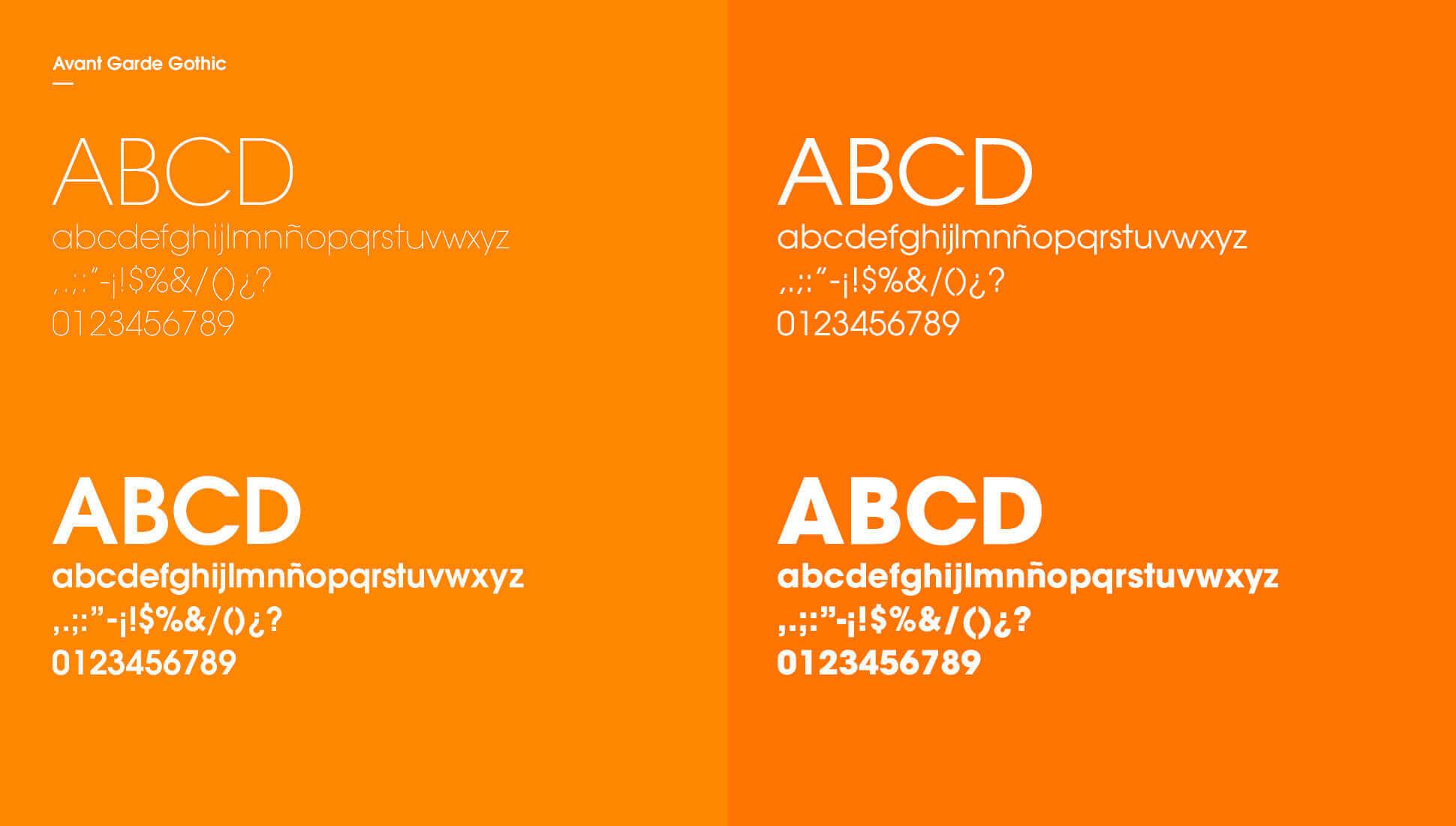 Tipografía corporatia de Multiasistencia