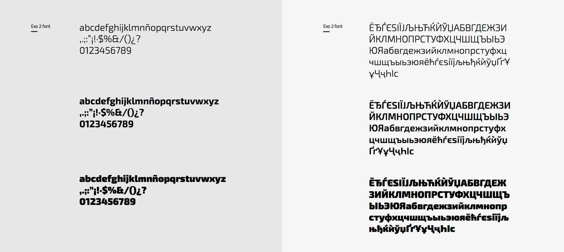 Tipografías corporativas de Febest