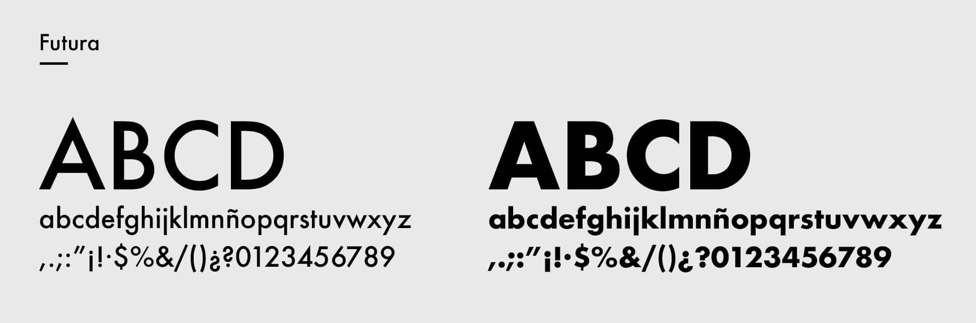 Tipografía corporativa de Domo